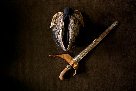 Blangkon and Keris, Traditional Wear for Javanese Man