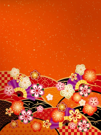 日本の日本語スタイルのパターン 写真素材 - 23242040