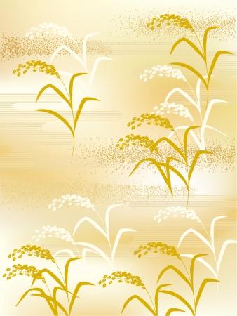 日本の米のイラスト  イラスト・ベクター素材