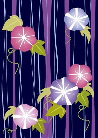 日本の夏の花