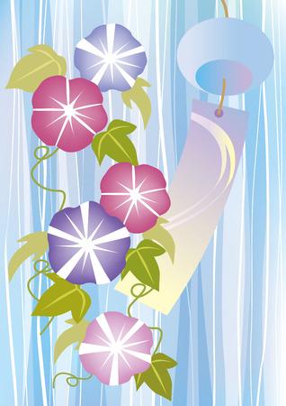 morning glory: Summer Flowers of Japan