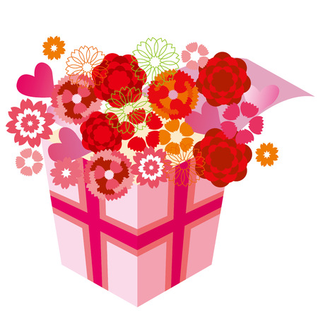 special occasion: Illustration of Carnation Mother s Day