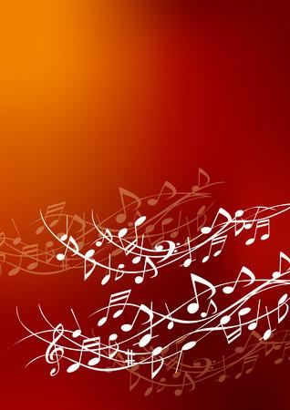 Illustrations of fun music Vector