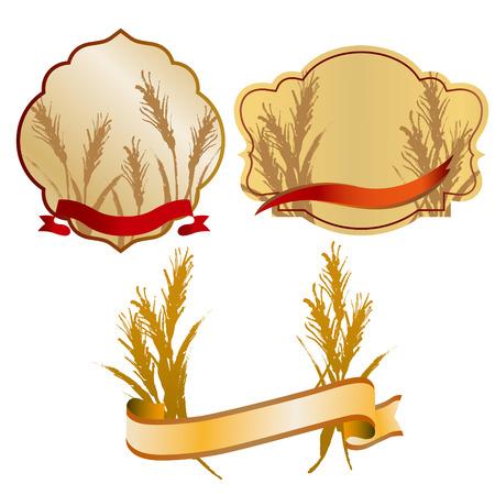 小麦のイラスト