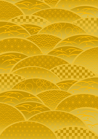 Pattern of gold