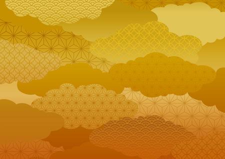 Patroon van de kimono