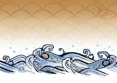 ?????? 아름다운 바다? ?????? 삽화 일러스트