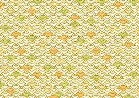 Patroon van de Japanse zee