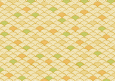Pattern of Japanese sea