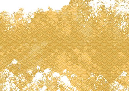 일본 바다의 패턴