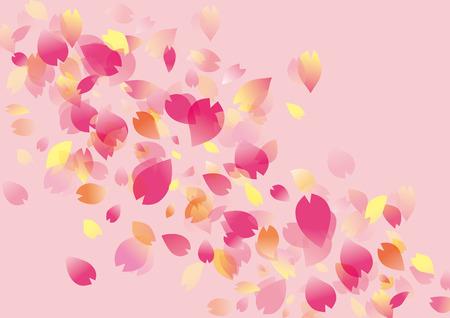 flor de sakura: Illustration of beautiful cherry tree sakura