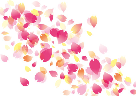 Illustration of beautiful cherry tree sakura
