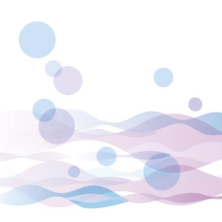 イラストのきれいな水