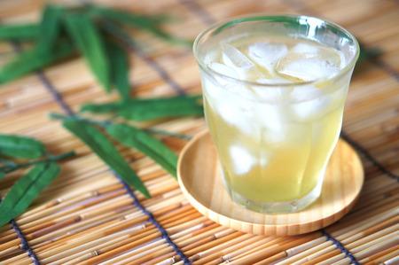 drink tea: Japanese tea