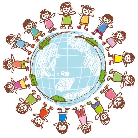 Hijos de la Tierra pacífica