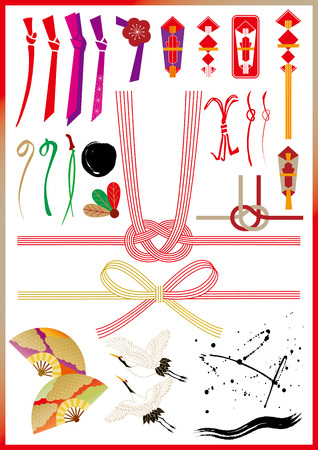 Material of Japanese New Year