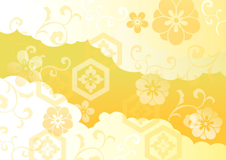 The beautiful pattern of Japan Stock Vector - 44170104