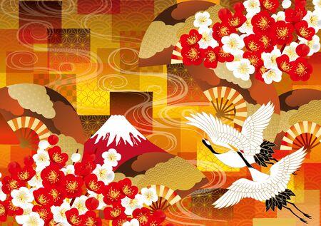 背景素材の美しい日本