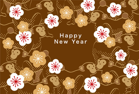 new years: Japans New Years card 2016