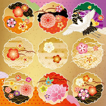The beautiful pattern of Japan