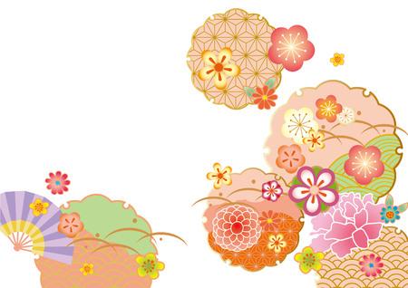 muster: Das schöne Muster von Japan