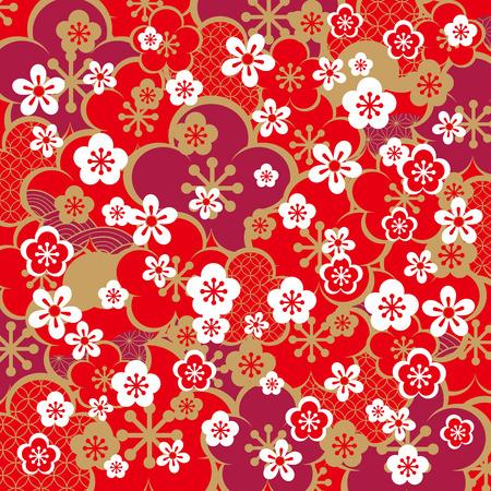 Het mooie patroon van Japan Stockfoto - 50210856