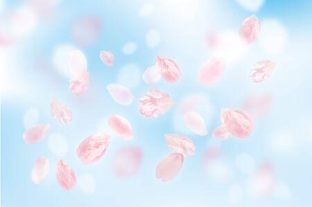 admission: Beautiful cherry landscape