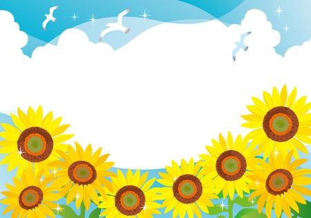 ひまわりの夏