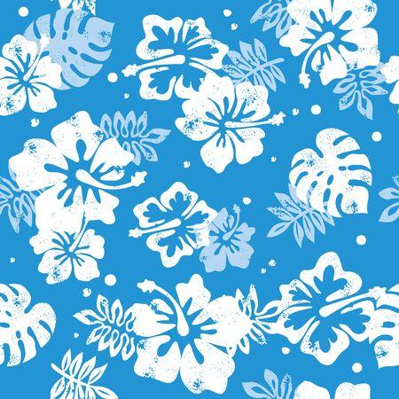 Aloha hibiscus pattern