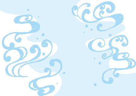 water wave: water wave illustration Illustration
