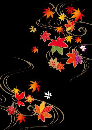 Herbstlaub Illustration
