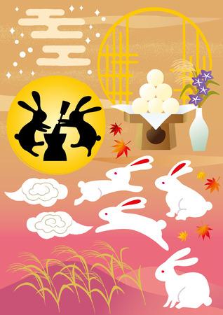 viewing: Rabbit moon viewing