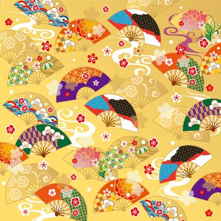 Het prachtige patroon van Japan