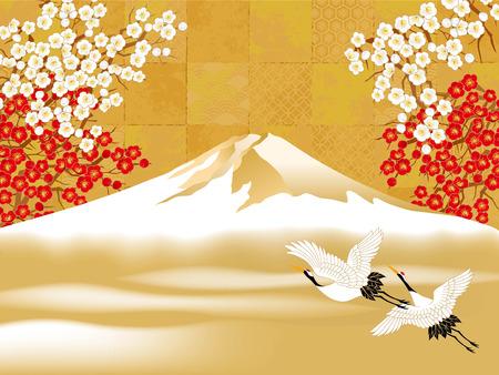 Tsuru and Mt. Fuji are beautiful examples.