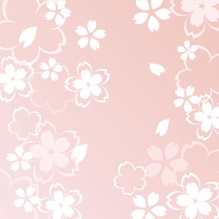 A beautiful cherry blossom illustration Stock Illustratie