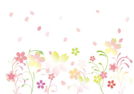fleur de cerisier: Fun spring illustration