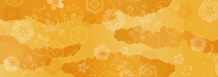 Japanse Patroon Vectorillustratie. Stock Illustratie