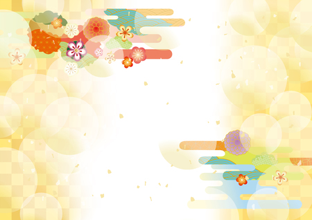 Japanese Pattern vector illustration.