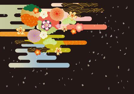 Flower pattern. Ilustrace