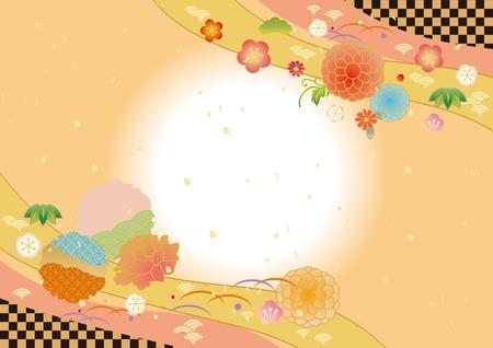 Flower pattern. Reklamní fotografie - 85414306