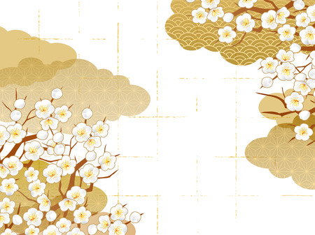 Japanese pattern background