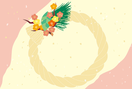Japanese New Years Illustration Ilustrace