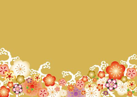 fondo de patrón japonés