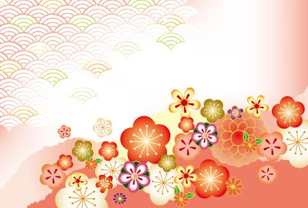 일본어 패턴 배경