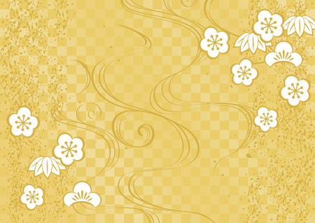 Japanese pattern background Reklamní fotografie - 87770562