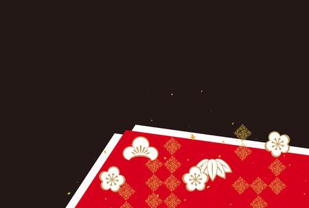 A Japanese pattern background