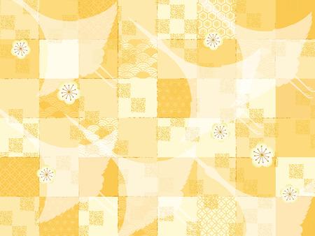 Japanese style pattern Illustration