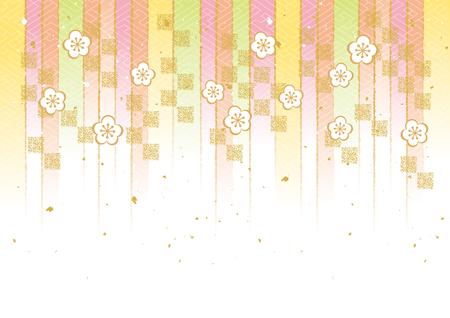 Japanese style pattern Ilustrace