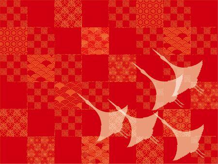 Japanese style pattern Stock Photo