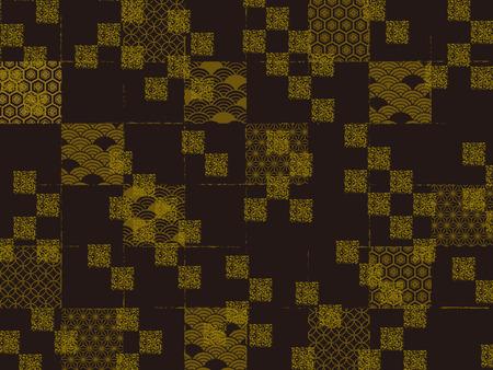 Seamless pattern of Japanese style pattern